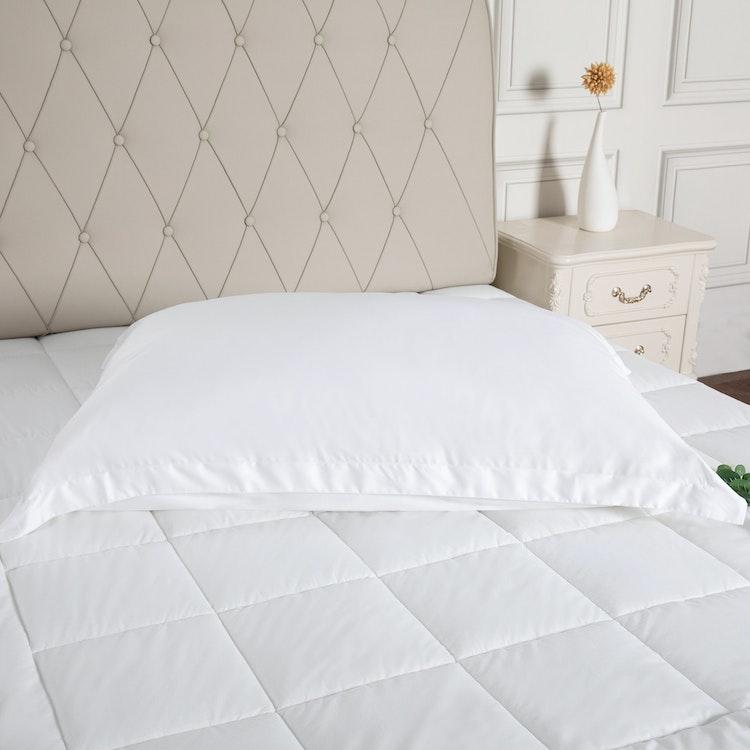 Örngott för Hotellkudde 70x100 cm - 100% Bambu - 300TC - Vit