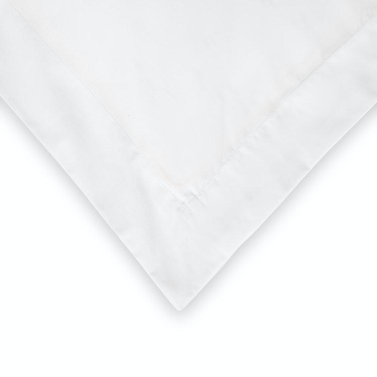 Exklusivt Örngott 50x60 cm - Vitt - 100% Bomull - 300TC