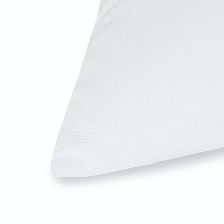 Prydnadskudde 50x50 cm - Hålfiber - 550g - Vit