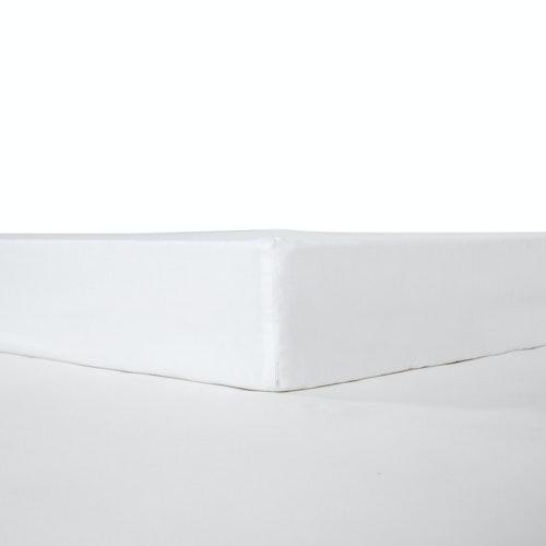 Kuvertlakan 180x200 cm - 100% Bomull - 300TC - Vit