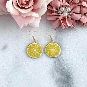 Citron Örhängen