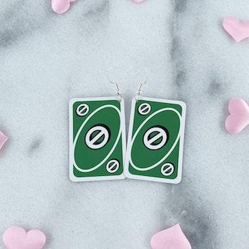Gröna Stop Örhängen