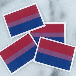 Klistermärke Bisexuell