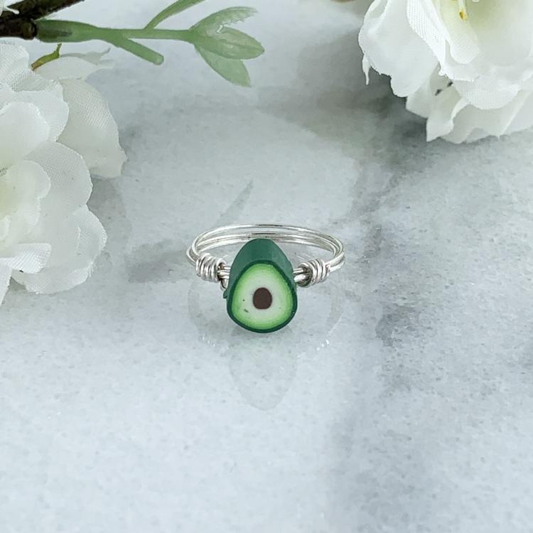 Avokado Handgjord Ring