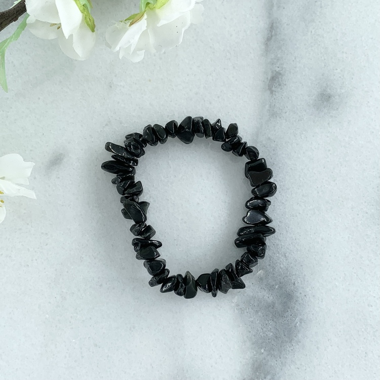 Obsidian Armband