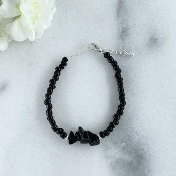 Armband Obsidian