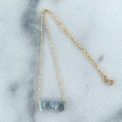 Kristall Halsband Guld