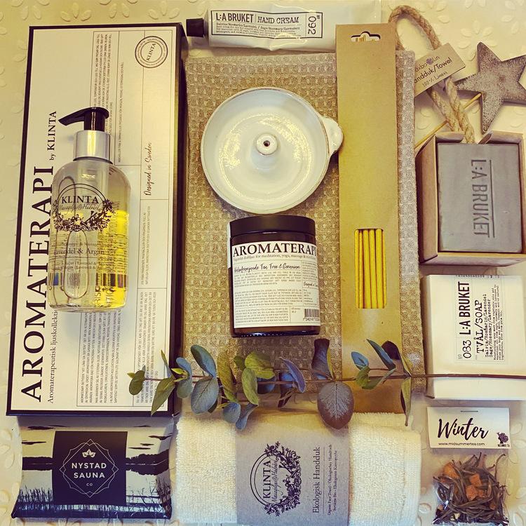 Spa o Body Box Lyx, aromaterapi, underbar spa-upplevelse