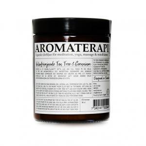 Aromaterapi Ljus från Klinta, naturell vax, för kropp och själ