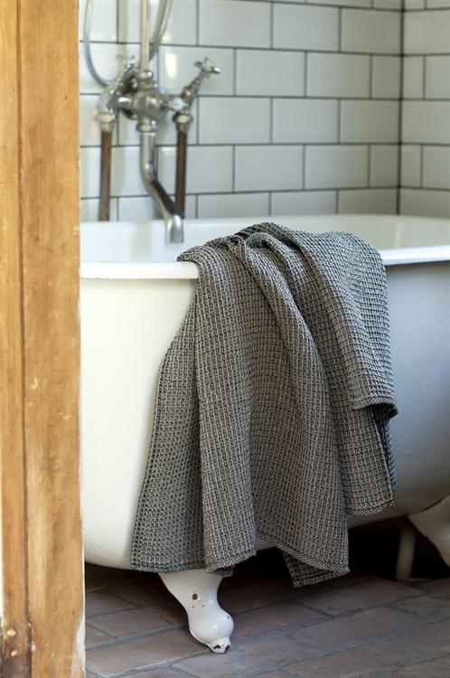 Badhandduk från Växbo Lin, spa, bastu