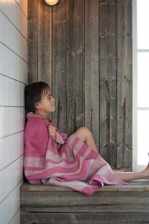 Badhandduk från Växbo Lin,  långvarig användning