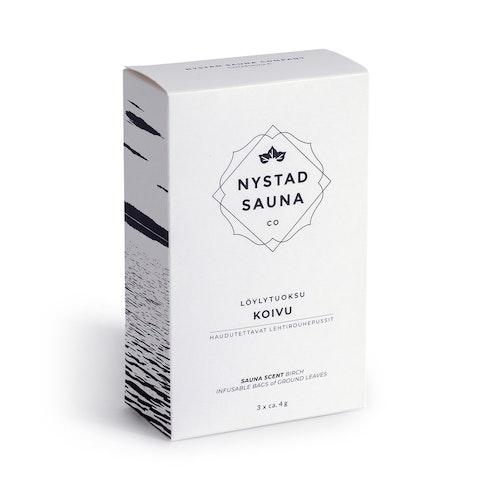 Bastu Doft från Nystad Sauna box 3x4g påse
