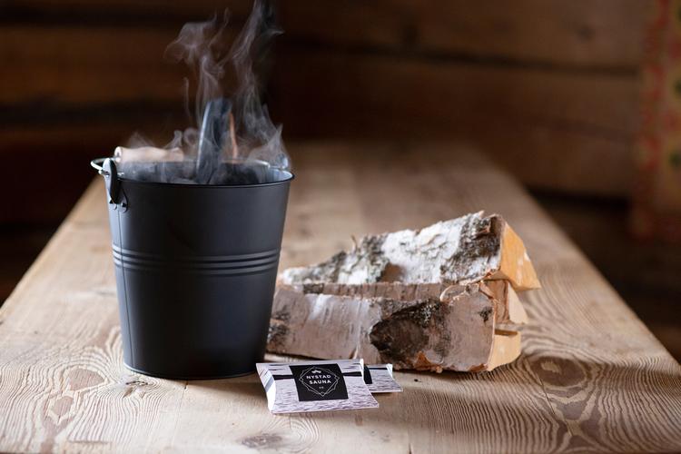 Bastu Doft från Nystad Sauna box 3x4g påse, inspirerad av naturen, välbefinnande