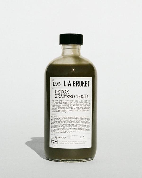 L:A Bruket  Seaweed Bath, avgiftningsbad, organisk och naturlig