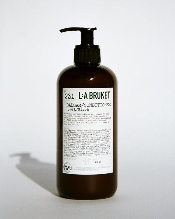 L:A Bruket Balsam,  citrongräs och björk, dofter av naturen