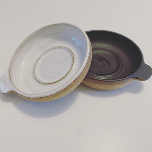 Keramik Värmeljus och Lös Rökelse Hållare