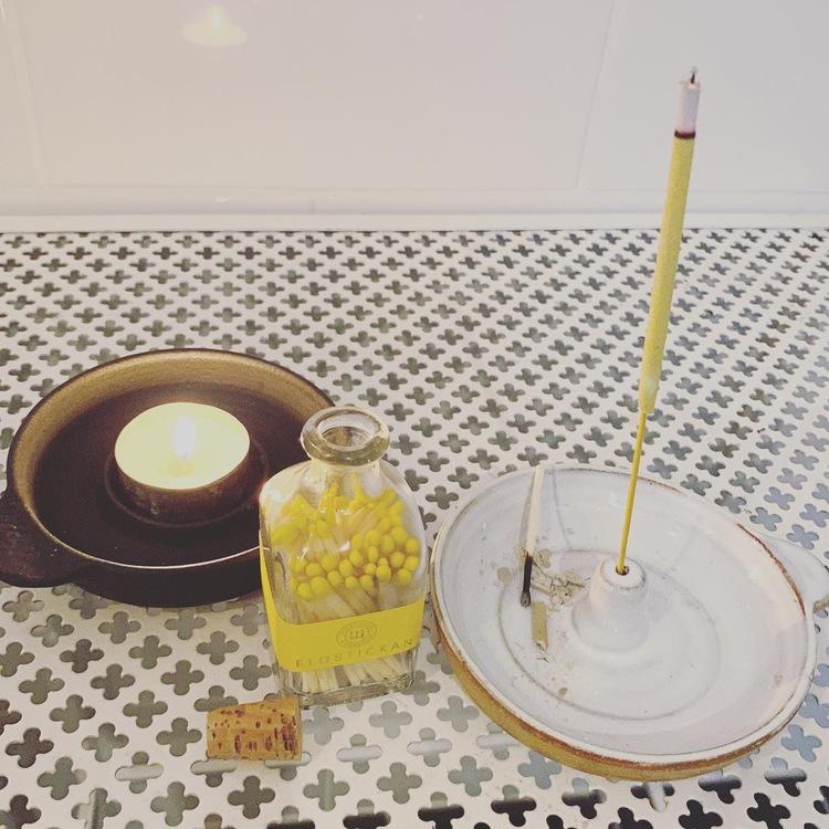 Keramik Värmeljus och Lös Rökelse Hållare,  Enstaka produkt, skandinavisk