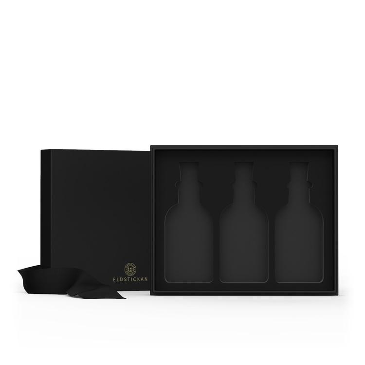3-Pack Eldstickan Tändstickor i Presentförpackning, snygg present