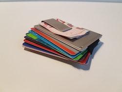 Smart wallet Silver