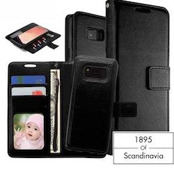 Magnetic wallet black