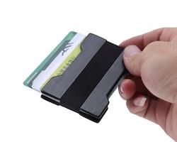 Slim card holder black