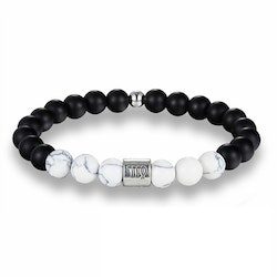 Zodiac sign Bracelet white