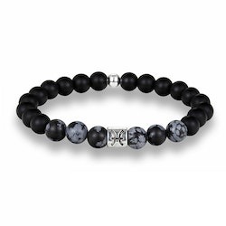 Zodiac sign Bracelet black