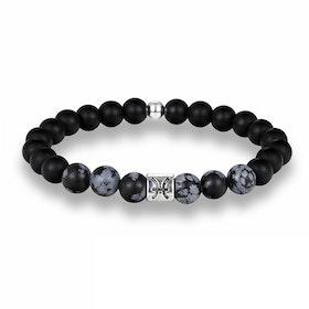 Zodiac sign Bracelet black