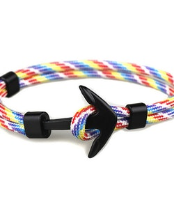 Anchor Black Rainbow