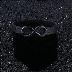 Infinity Leather black