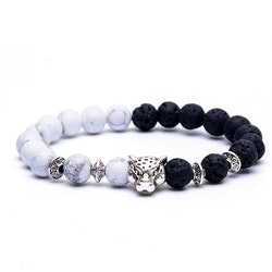 White lava leopard
