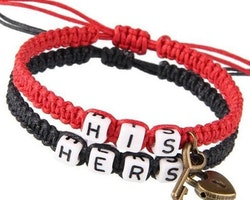 His & Hers red black
