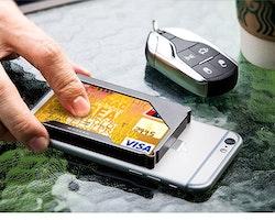 Modern card holder Black