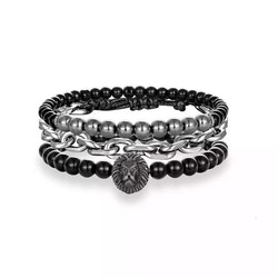 3 bracelet lion