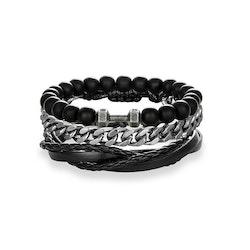 3 bracelet black