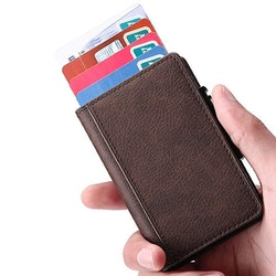 Card holder Brown