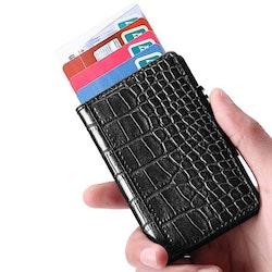 Card holder black pattern