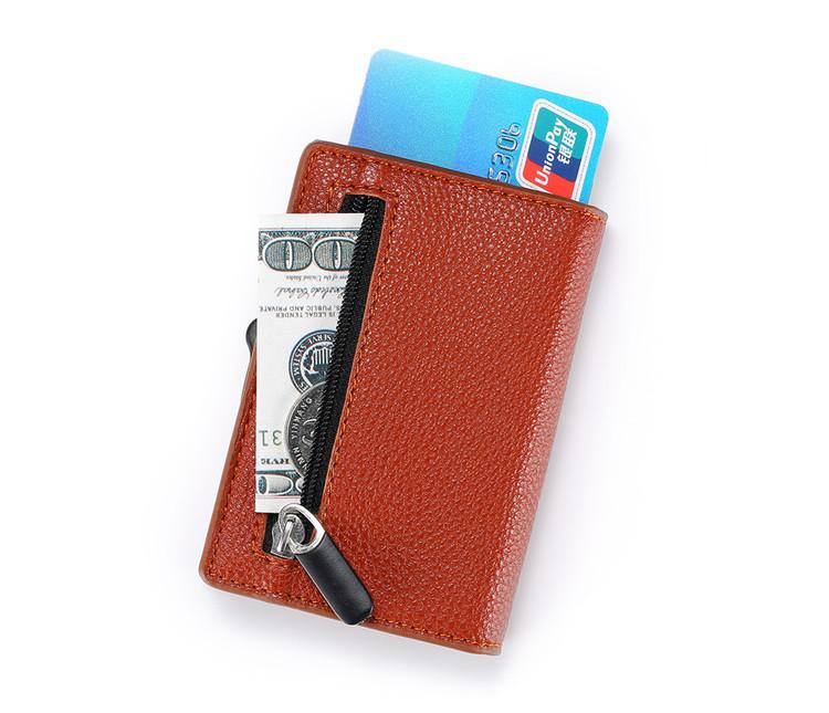 Card holder XL Brown