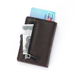 Card holder XL Dark brown