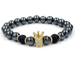 Metallic crown gold