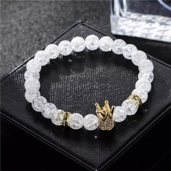 Crystal crown gold