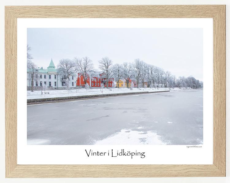 Vinter i Lidköping