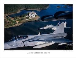 JAS 39 GRIPEN VS MIG 29 (1)