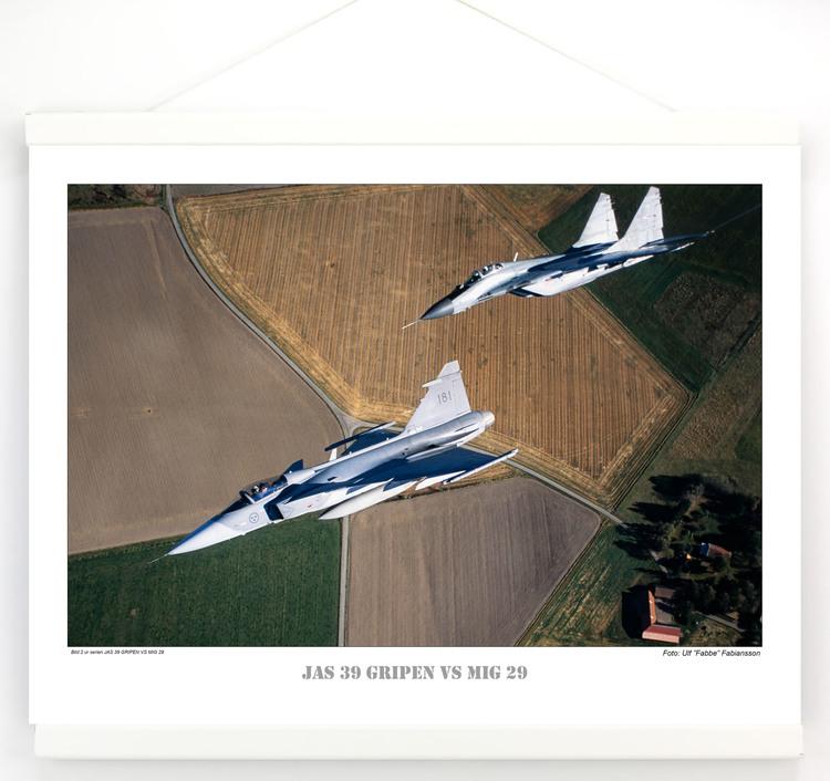 JAS 39 GRIPEN VS MIG 29 (2)