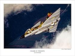 SAAB 37 VIGGEN Luftstrid