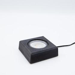 Light in Art Ljusplatta LED i Trä kvadrat 9 cm