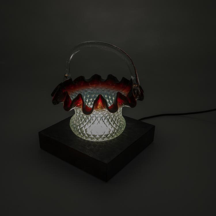 Light in Art Ljusplatta LED i Trä kvadrat 13 cm