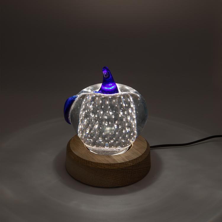 Light in Art Ljusplatta LED i Trä Rund 11 cm