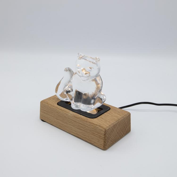 Light in Art Ljusplatta LED i Trä Rektangulär 14 cm