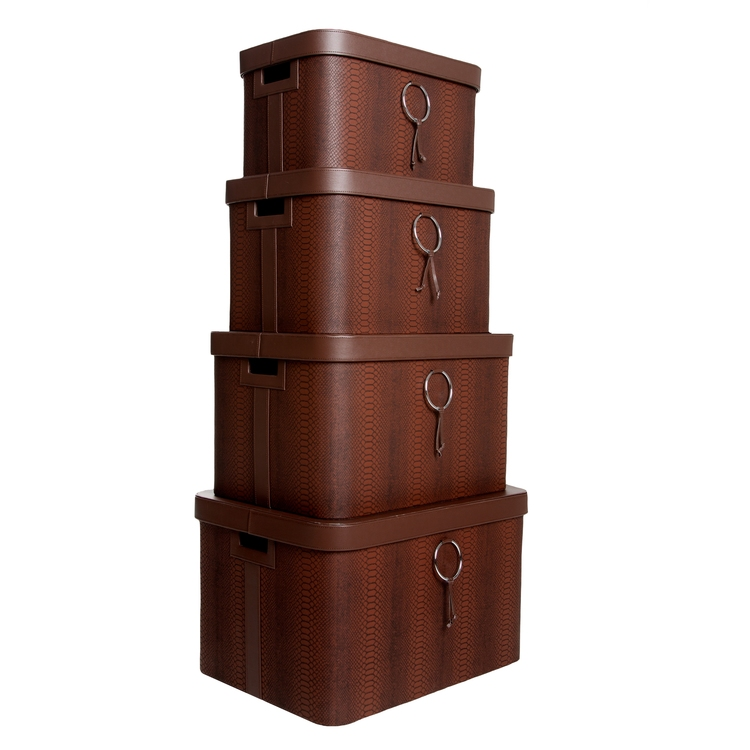 Storage Chest - Ring Collection - Set of four